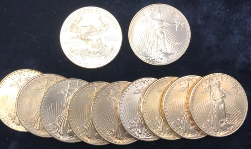 Gold at a 6 Year High | All American Coin Shop Fort Myers. Florida