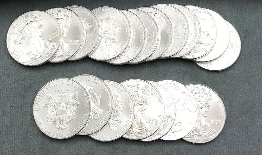 Silver American Eagle Coins for Sale Fort Myers, Florida | All American Coin Shop